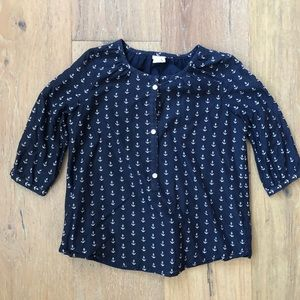 Girls crewcuts Anchor Top